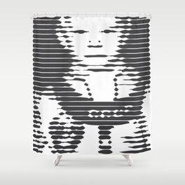 Cosmonaut Shower Curtain
