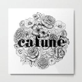 Cafuné Metal Print
