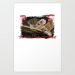 What Lives Under YOUR bed? Art Print