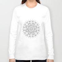 circles Long Sleeve T-shirts featuring Circles by CAROTillustrations