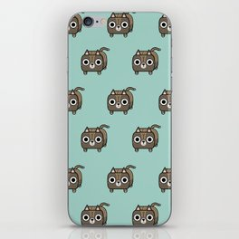 Cat Loaf - Brown Tabby Kitty iPhone Skin