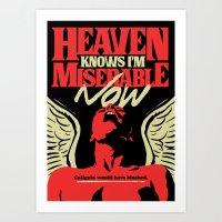 Heaven Knows Art Print