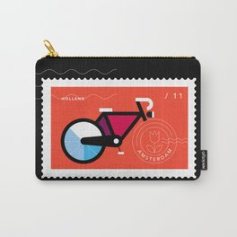 Postcards from Amsterdam / Bicycle Carry-All Pouch