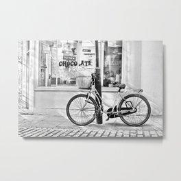 Chocolate Cafe Metal Print