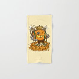 The Steampunk Pumpking Hand & Bath Towel