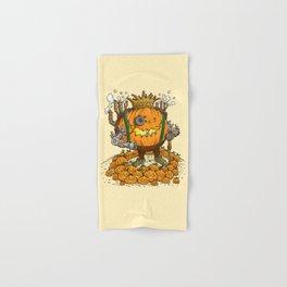 The Steampunk Pumpking Hand & Bath Towel