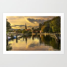 Marlow In The Late Afternoon Light Art Print