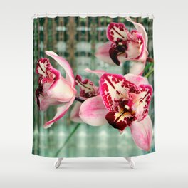 It's Threelip Time Shower Curtain