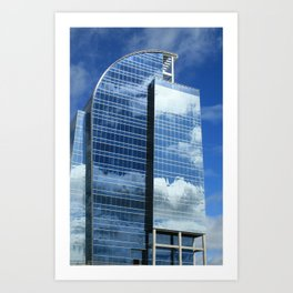 Corporate Heaven  Art Print