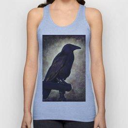 Black Raven of Peace Unisex Tank Top