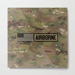 Airborne (Camo) Metal Print