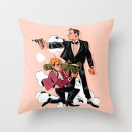 Search and Destroy 2 Throw Pillow