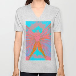 Oh To Be A Butterfly Unisex V-Neck