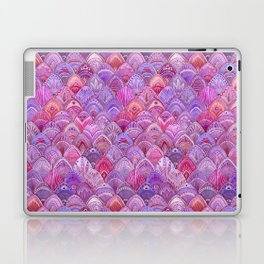 Mermaid Scales - Purple Laptop & iPad Skin