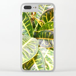 """""""Planted"""" Clear iPhone Case"""