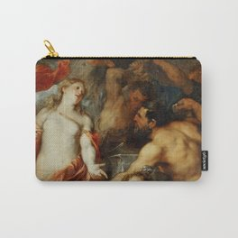 """Sir Anthony van Dyck """"Venus at the Forge of Vulcan"""" Carry-All Pouch"""