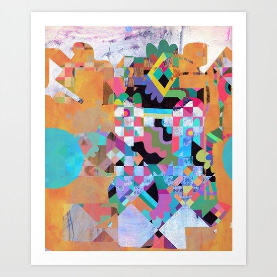 Senet Art Print