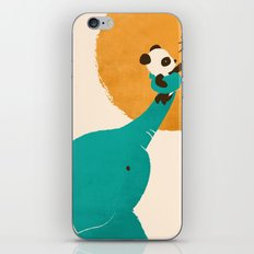 Panda's Little Helper iPhone Skin