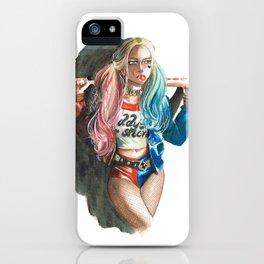 Crazy World iPhone Case