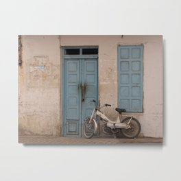 """Tunisian Moped"" Photo by Noora Elkoussy Metal Print"