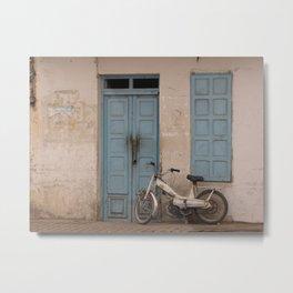 """Tunisian Moped"" Photo by Noora Elkoussy Metal Print"