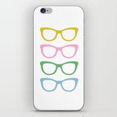 Glasses #4 iPhone & iPod Skin