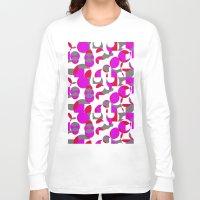 chakra Long Sleeve T-shirts featuring Chakra Movements  by MZ Designs