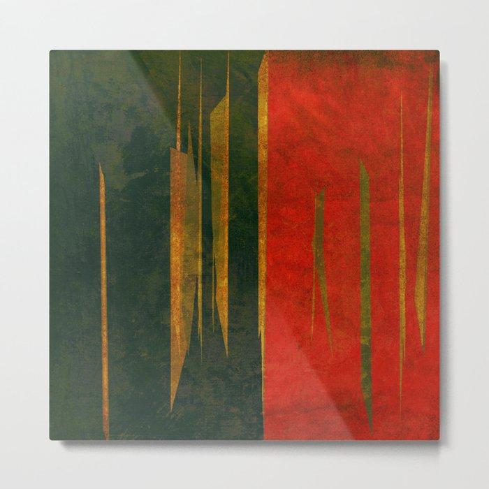 竹林の戦い (Battle in the bamboo forest) Metal Print