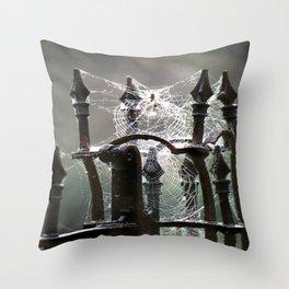 """""""Tangled Webs"""" jjhelene design Throw Pillow"""