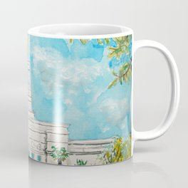 Fresno CA LDS Temple Daylight Coffee Mug