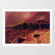Sands of Mars Art Print