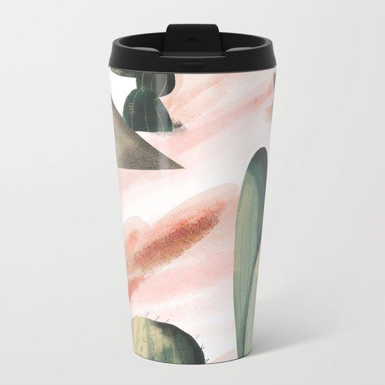 Pasancana & Quehualliu Metal Travel Mug