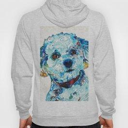 Small Dog Art - Who Me - Sharon Cummings Hoody