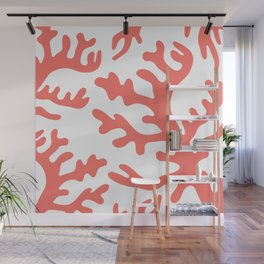 LIVING CORAL Wall Mural