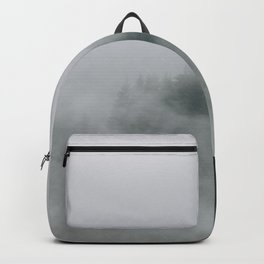 Mysterious moody foggy Forest - Landscape Photography Backpack
