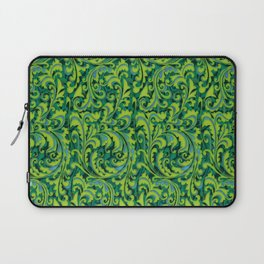 Verdant Victorian Vegetation Laptop Sleeve