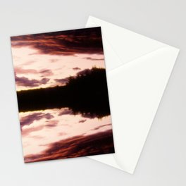 Rorschach's Sunset Stationery Cards