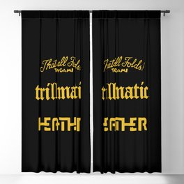 trillmatic Heather Blackout Curtain