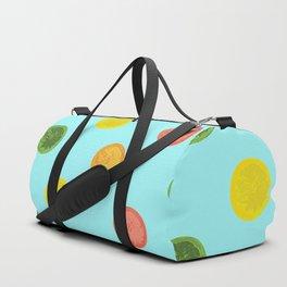 Citrus Polkadots Duffle Bag