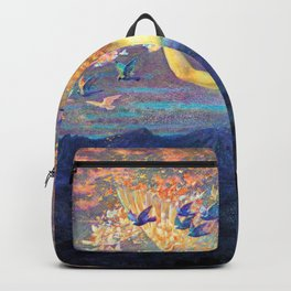 13,000px,600dpi-Edward Robert Hughes - Wings of the Morning - Digital Remastered Edition Backpack