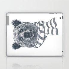 Winter Bear Drawing Laptop & iPad Skin