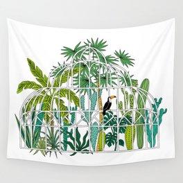 Royal greenhouse Wall Tapestry