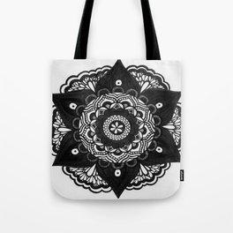 Flower Mandala Number 2 Tote Bag
