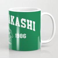 kakashi Mugs featuring Team Kakashi by Tsundere in the Sheets