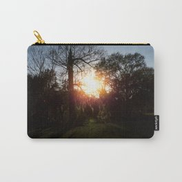 A History Of Whimsical Trees Glowing At Sundown In New Orleans Carry-All Pouch