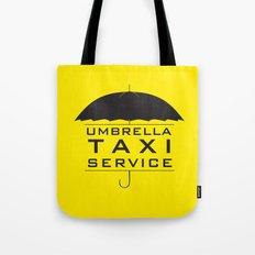umbrella taxi service Tote Bag