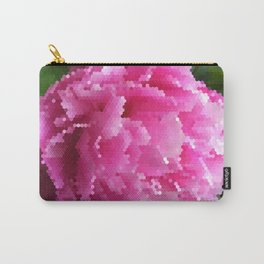 Peonycomb Carry-All Pouch
