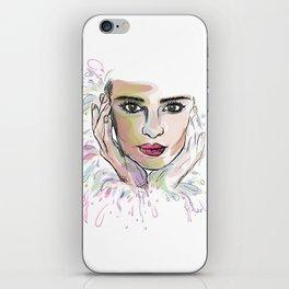 Beauty (part 1)- Watercolor series iPhone Skin