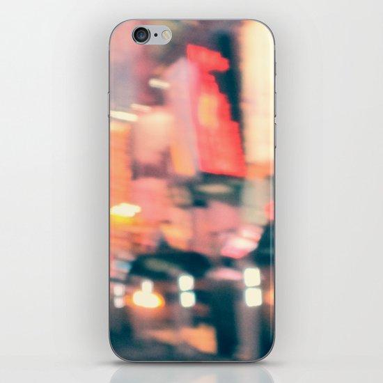 NY Lights iPhone & iPod Skin