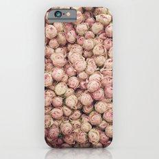Flower Market 1 - Pink Roses  Slim Case iPhone 6s